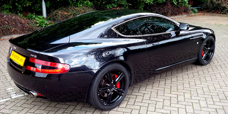 Aston Martin Db9 Black Hire
